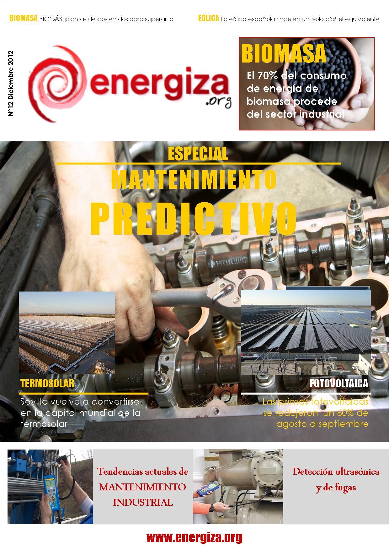 Portada de la revista ENERGIZA