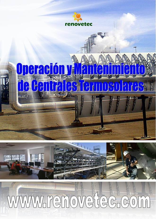 operacion y mantenimiento de centrales termosolares