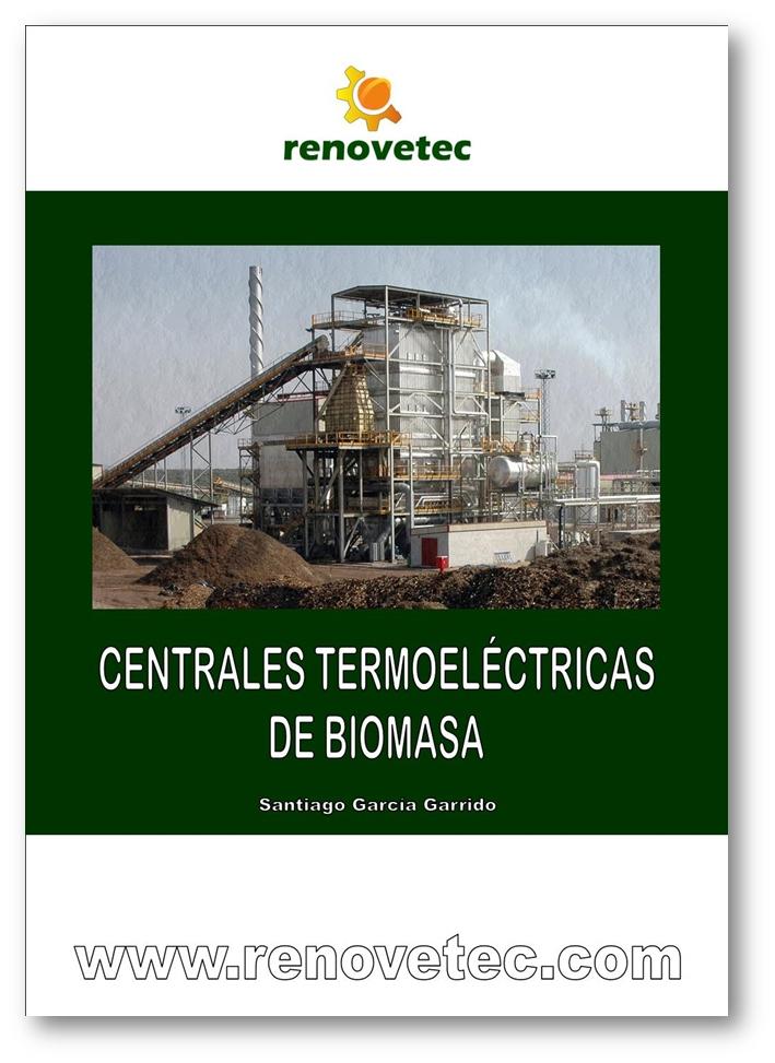 Portada libro Centrales termoeléctricas de biomasa